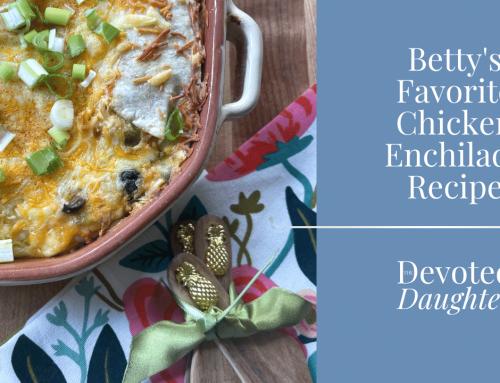 Betty's Famous Chicken Enchilada Recipe